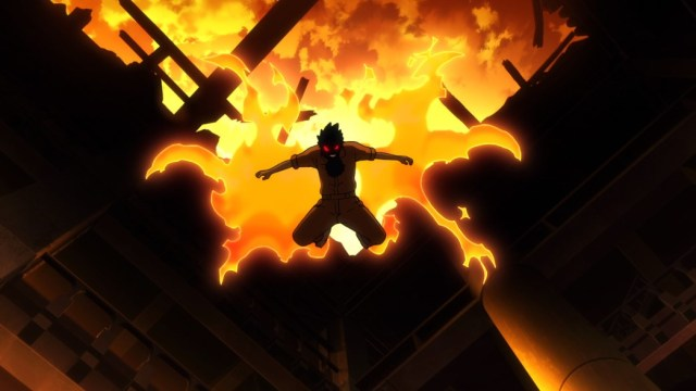 Fire Force Episode 8 Shinra Kicking Arrives to Save the Day