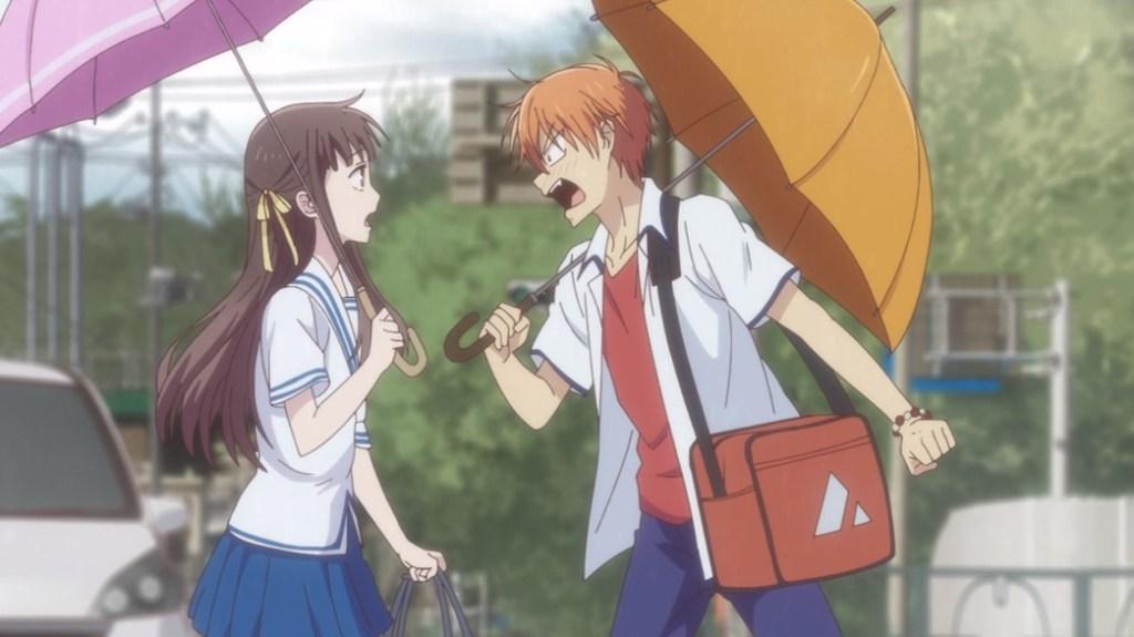 Fruits Basket Episode 23 Kyo yells at Tohru