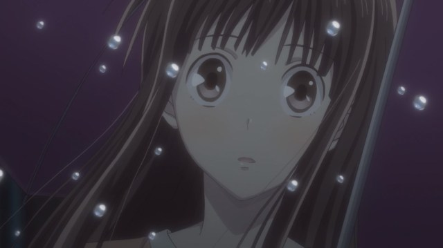 Fruits Basket Episode 24 Tohru can't believe what she's seeing