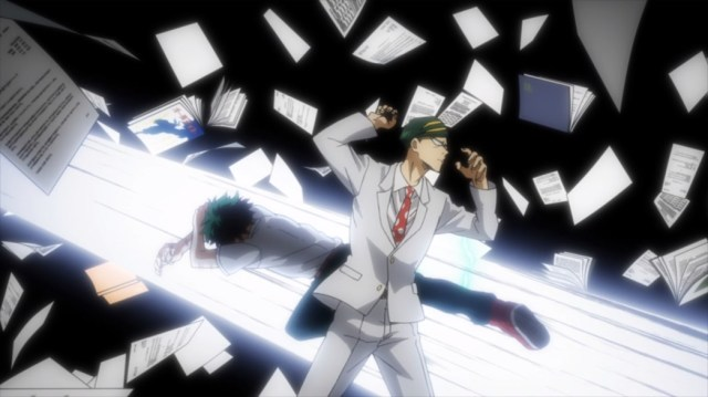 My Hero Academia 4 Episode 66 Nighteye Dodging Midoriya Again