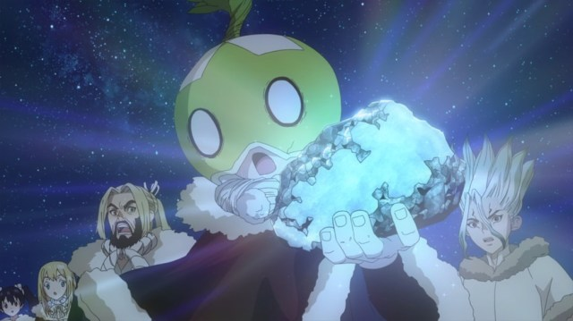 Dr Stone Episode 21 Suika finds Tungsten