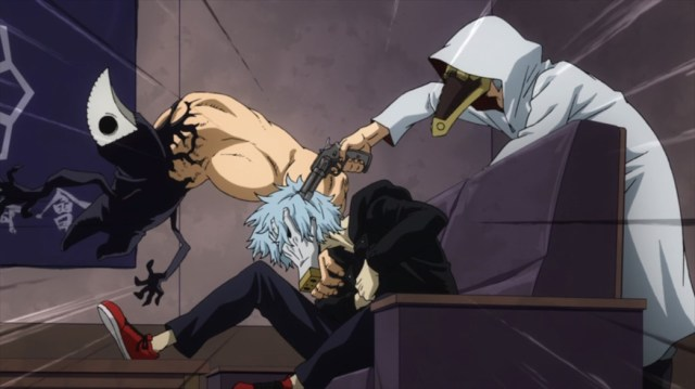 My Hero Academia 4 Episode 68 Shigaraki in the Yakuza's Base