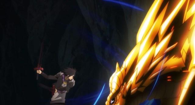 Cautious Hero Episode 6 Seiya versus Leviae Dragon Form