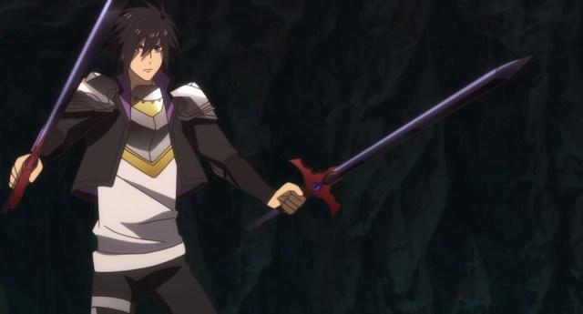 Cautious Hero Episode 6 Seiya with Two Dragon Killer Swords