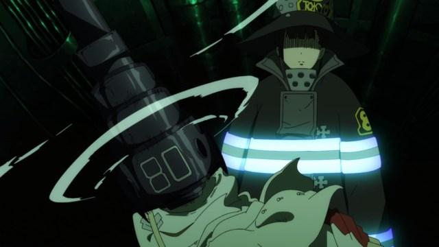 Fire Force Episode 19 Maki Destroys Ashen Knights