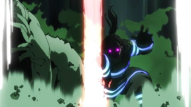 Fire Force Episode 19 Maki Destroys Flail