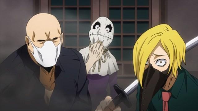 My Hero Academia 4 Episode 71 Yu hojo Soramitsu Tabe and Toya Setsuno