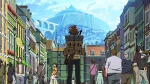 Akame ga Kill Episode 1 Tatsumi arrives at the Capital