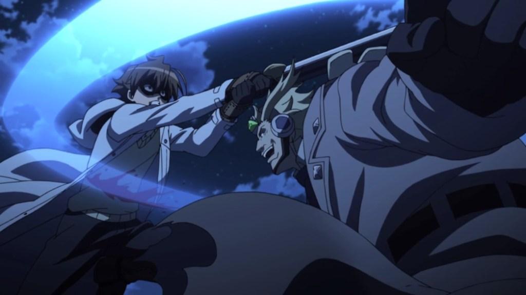 Akame ga Kill Episode 4 Tatsumi versus Headhunter Zanko