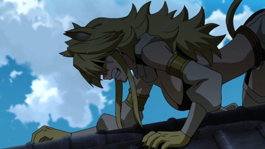 Akame ga Kill Episode 7 Leone realising just how Powerful Esdeath Is
