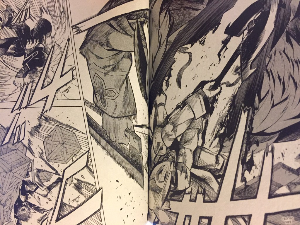 Akame ga Kill Volume 3 Bulat fighting the Three Beasts