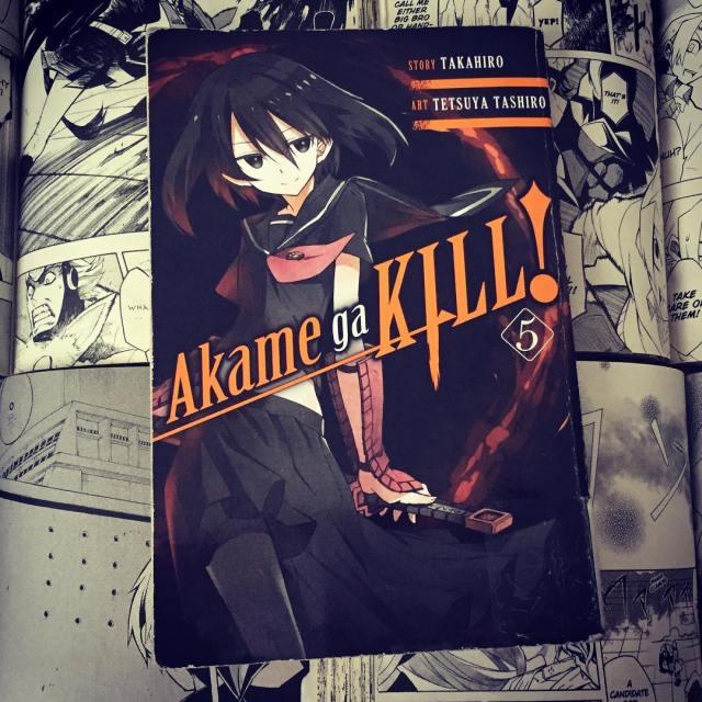 Akame ga Kill Volume 5 Cover