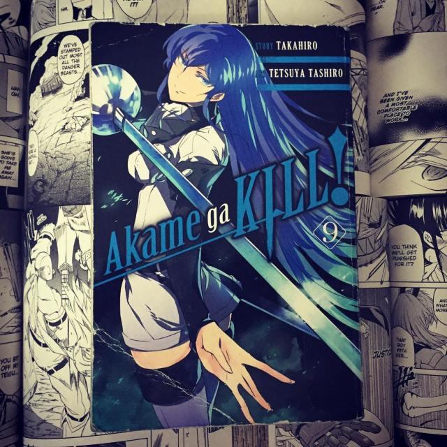 Akame ga Kill Volume 9 Cover