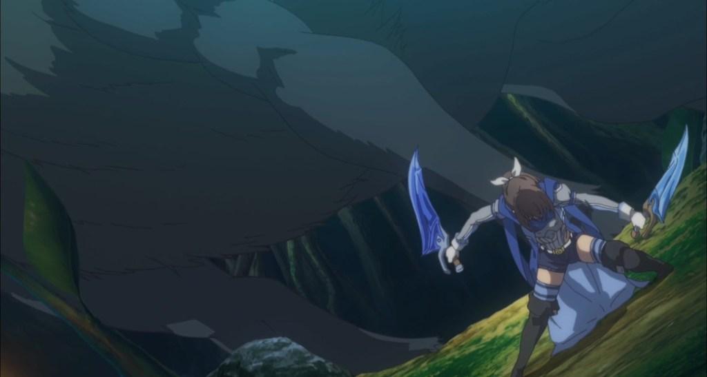 BOFURI Episode 3 Sally Defeating the Level Boss