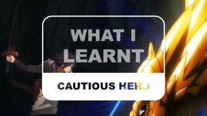 Cautious Hero What I Learnt