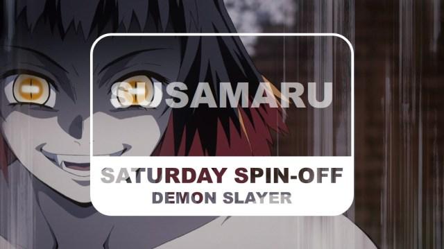 Demon Slayer Kimetsu no Yaiba Saturday Spin-off Susamaru Title