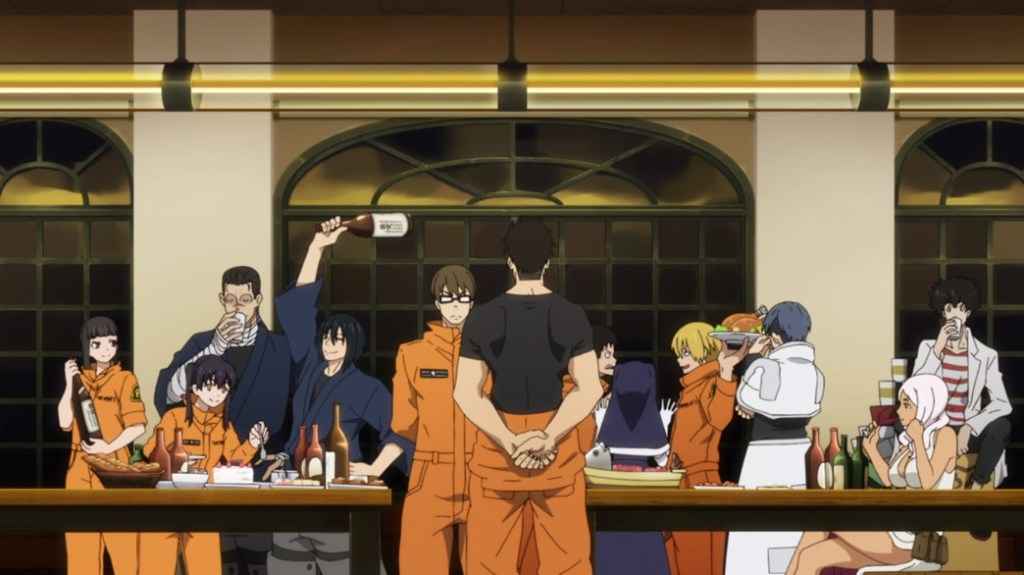 Fire Force Episode 24 Shinra's Party