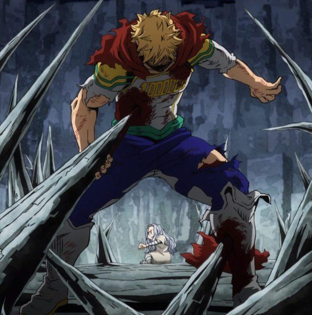 My Hero Academia 4 Episode 74 Quirkless Mirio Protecting Eri