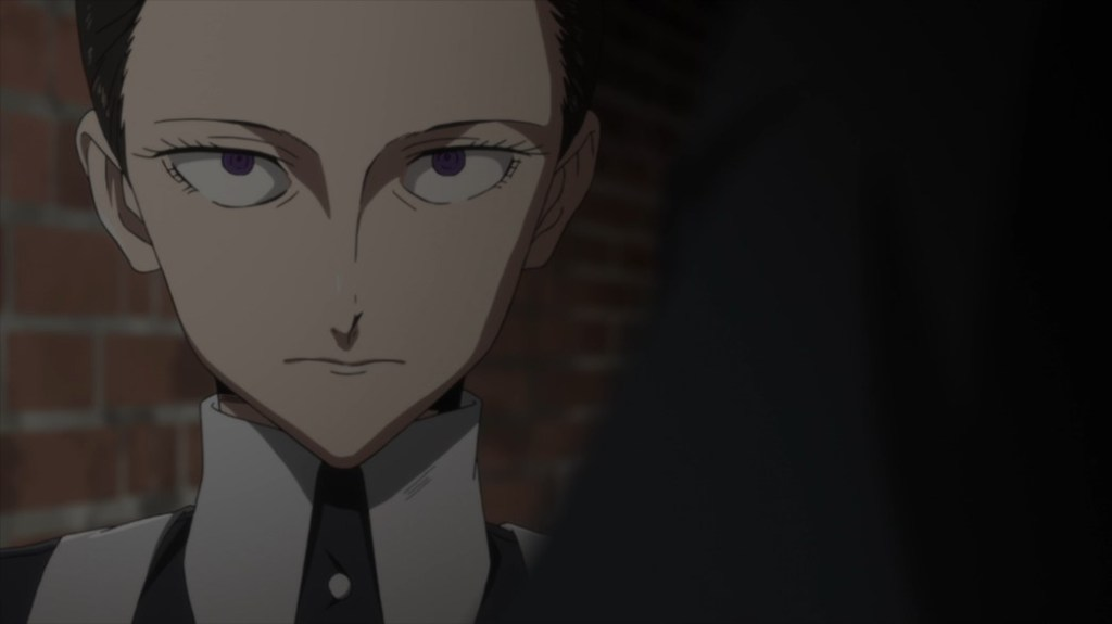 The Promised Neverland Episode 1 Isabella's Not Happy