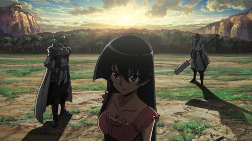 Akame ga Kill Episode 11 Akame Tatsumi and Susanoo