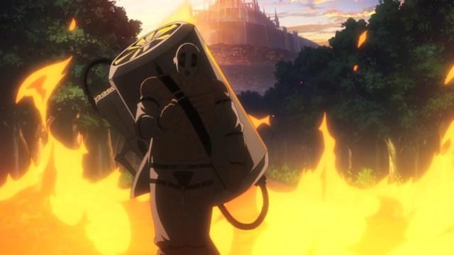 Akame ga Kill Episode 13 Bols having Saved the Merchants