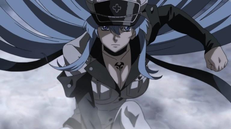 Akame ga Kill Episode 13 Esdeath Freezes Danger Beasts