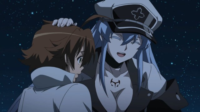 Akame ga Kill Episode 14 Esdeath is happy to find Tatsumi Again