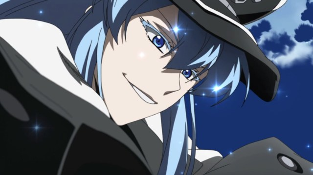 Akame ga Kill Episode 14 Esdeath shows her Ice Powers