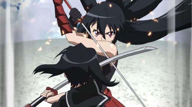 Akame ga Kill Episode 16 Akame versus Kurome
