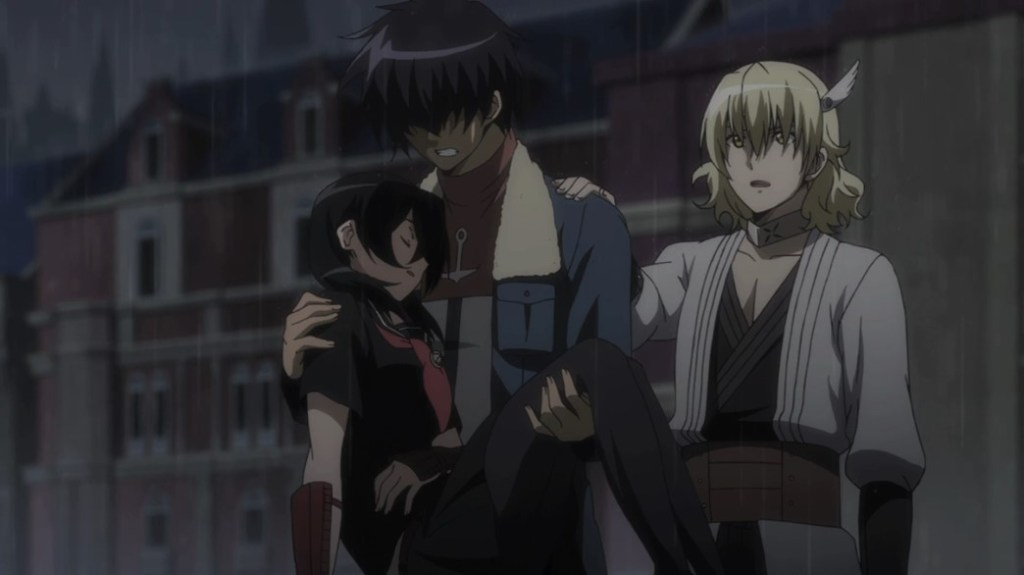 Akame ga Kill Episode 18 Kurome Wave and Run