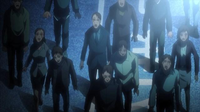 Highschool of the Dead Episode 4 Zombies