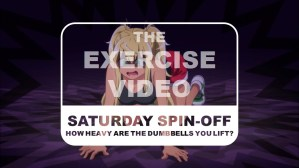 How Heavy Are the Dumbbells You Lift Saturday Spin-off The Exercise Video Title