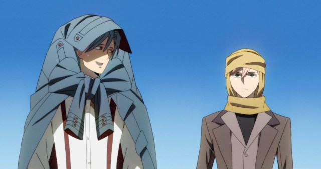 ID Invaded Episode 8 Sakaido and Anaido trying to survive the heat