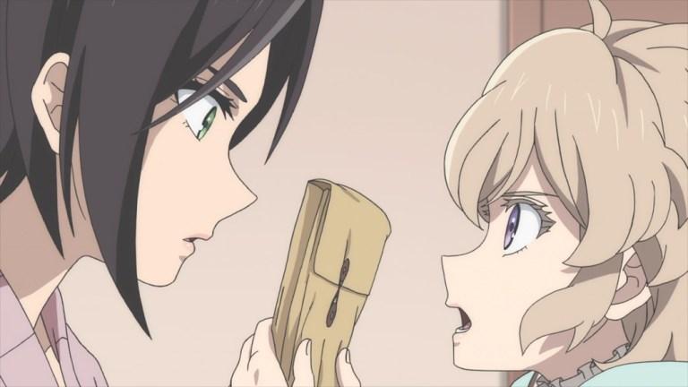 InSpectre Episode 6 Saki and Kotoko with a Police File