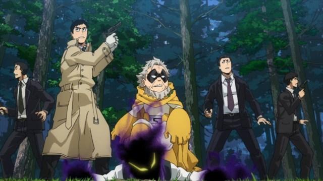 My Hero Academia 4 Episode 78 Gran Torino captured Karigiri
