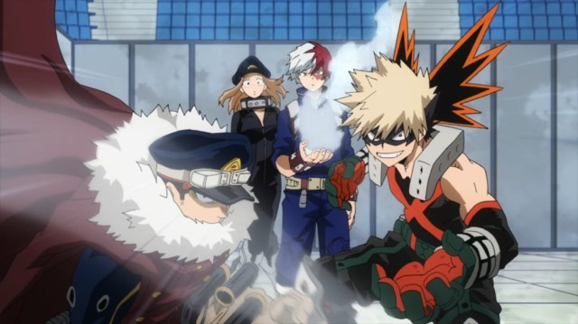 My Hero Academia 4 Episode 79 Inasa Todoroki Camie and Bakugo