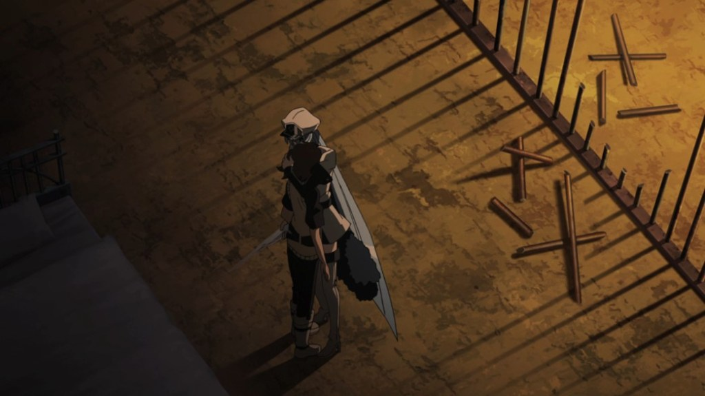 Akame ga Kill Episode 21 Esdeath breaks into Tatsumi's Cell