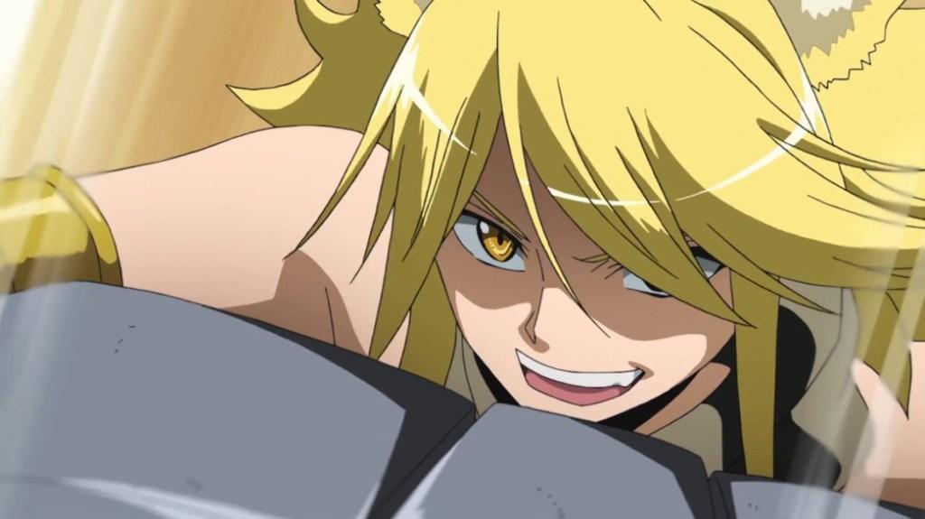 Akame ga Kill Episode 21 Leone fighting Budo