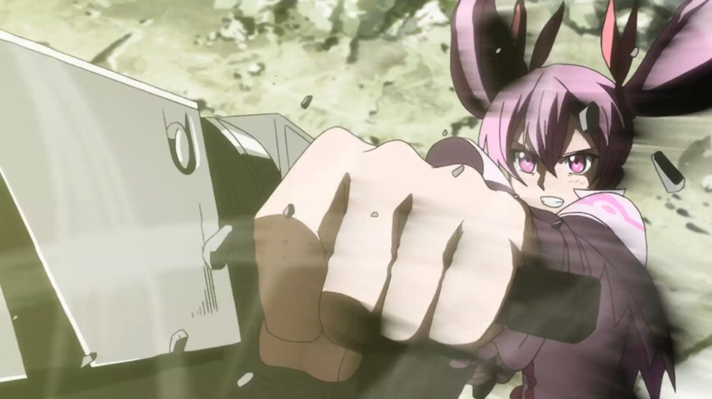 Akame ga Kill Episode 21 Mine firing Pumpkin