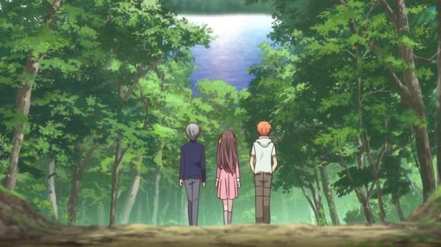 Fruits Basket Episode 15 Kyo Tohru and Yuki