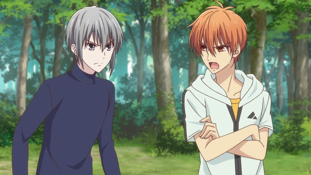 Fruits Basket Episode 15 Kyo and Yuki