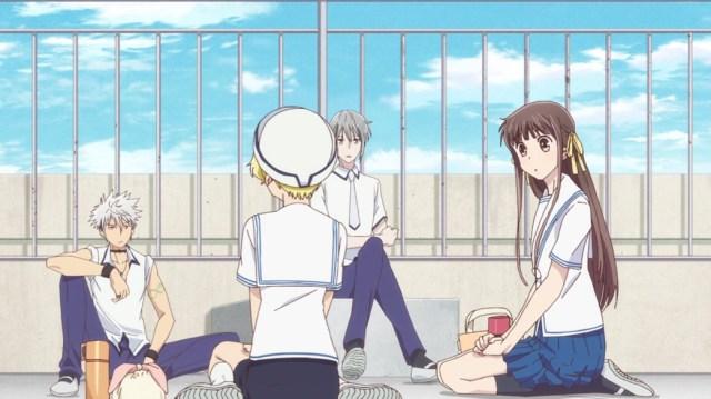 Fruits Basket Episode 18 Haru Momiji Yuki and Tohru