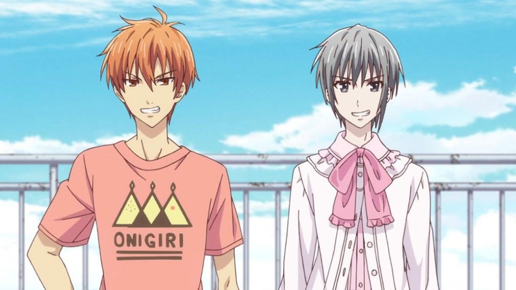Fruits Basket Episode 6 Kyo and Yuki
