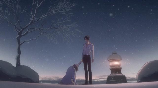 Fruits Basket Episode 7 Hatori about to wipe Kana's memories