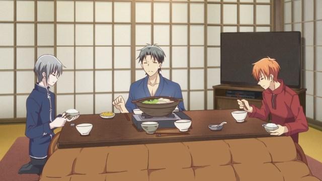 Fruits Basket Episode 8 Kyo Shigure and Yuki