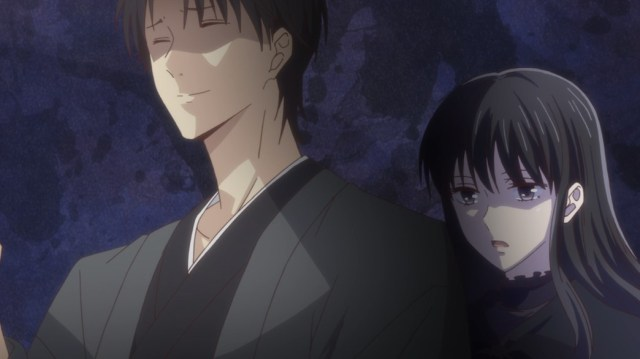 Fruits Basket Episode 8 Saki Spooking Shigure