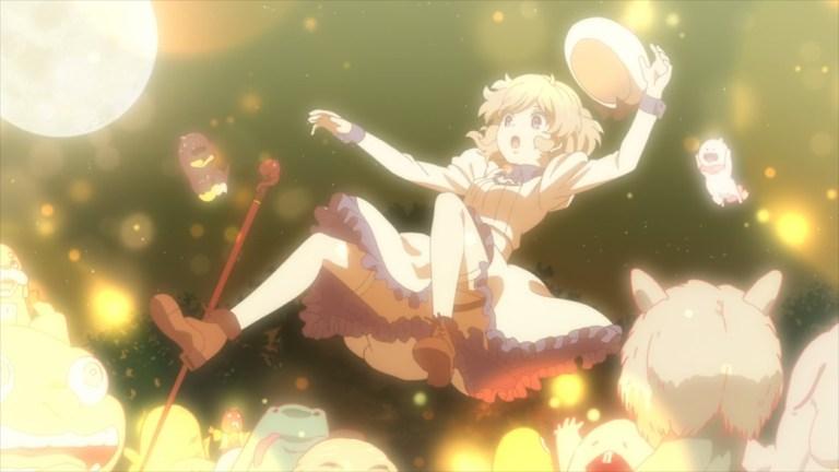 InSpectre Episode 12 The Yokai celebrating Kotoko's victory