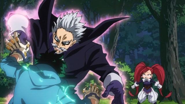 My Hero Academia 4 Episode 85 Midoriya and Gentle fighting before La Brava