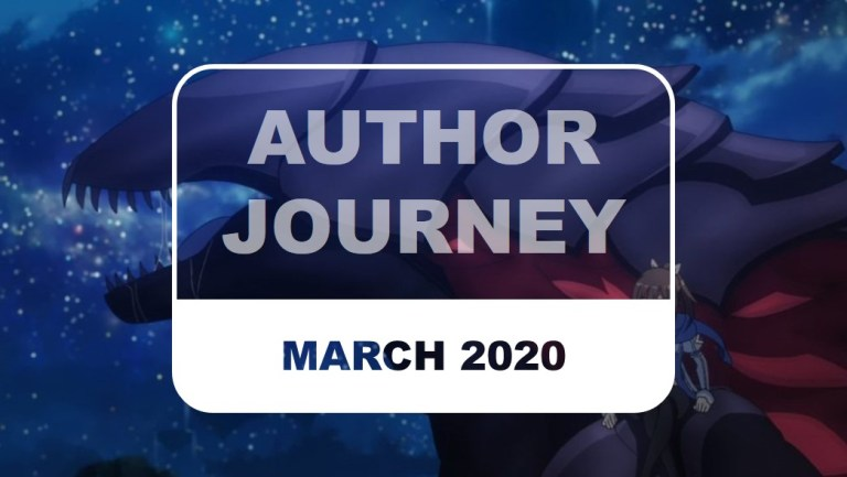 The Otaku Author Author Journey March 2020