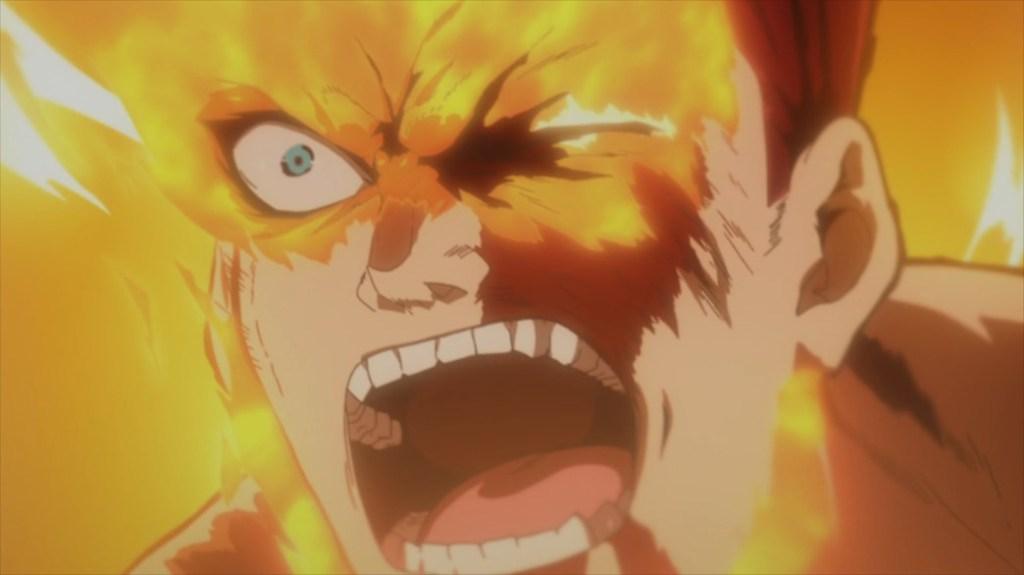 My Hero Academia 4 Episode 88 Endeavor hits back